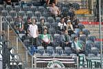 Karvinští (v zeleném) prohráli v Budějovicích 0:3.