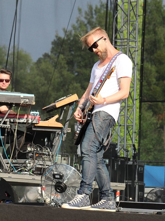 V Karviné se konal 10. ročník hudebního festivalu Dolański Gróm. Zahrála i polská kapela Organek.