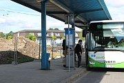 Rekonstrukce autobusového nádraží v Orlové.