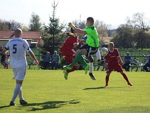 Petrovice doma prohrály po vyrovnaném zápase.