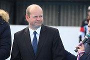 Martin Pala, dlouholetá vůdčí postava karvinského hokejbalu.