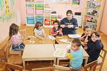 Děti obyvatel domů v Důlní ulici docházejí do vlastní školky.