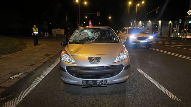 Chodce srazil v Havířově automobil.