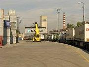 Kontejnerový terminál v Paskově