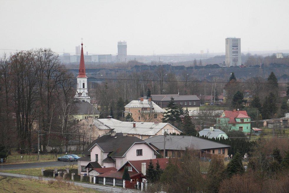 Doubrava. pohled na obec z Doubravského kopce