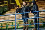 Snímky u derby zápasu mezi Orlovou (v bílém) a Bohumínem.