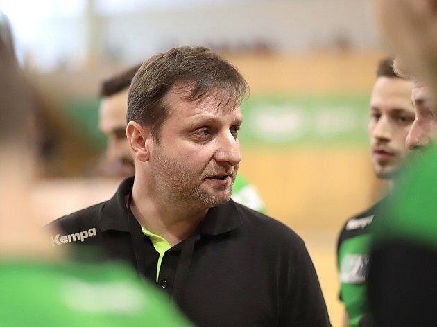 Trenér Baníku Marek Michalisko.