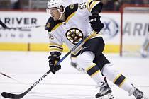 David Pastrňák bojuje v play off NHL.