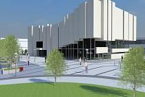 Takto nějak by mělo vypadat okolí kina Centrum po rekonstrukci.