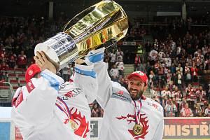 Oceláři přivezou do Těšína ukázat mistrovský pohár.