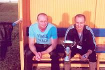 Marek Poštulka (vlevo) a Ivo Cichoň - bývalá trenérská dvojice Bohumína.