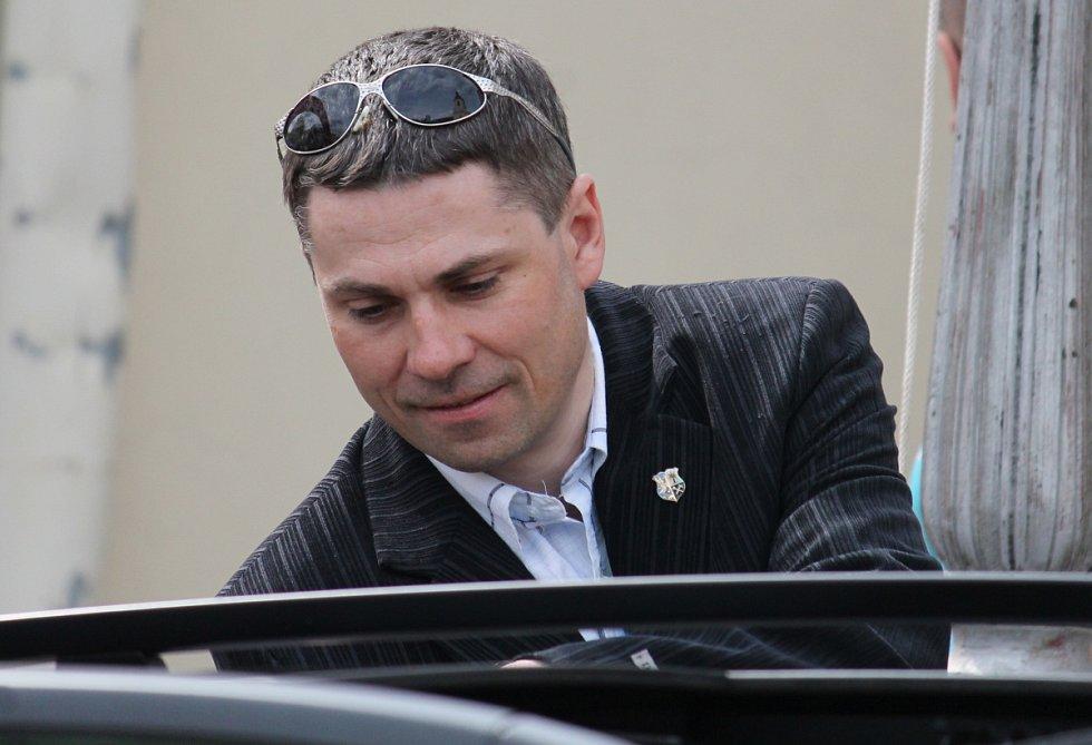 Ředitel závodu Petr Koláček.