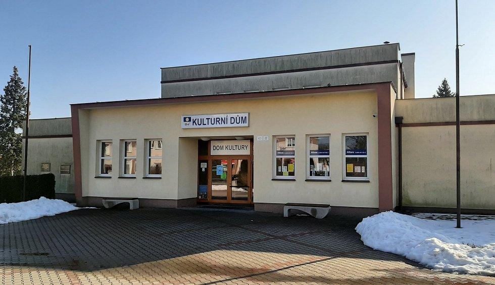 Těrlicko, kulturní dům kino Svoboda.