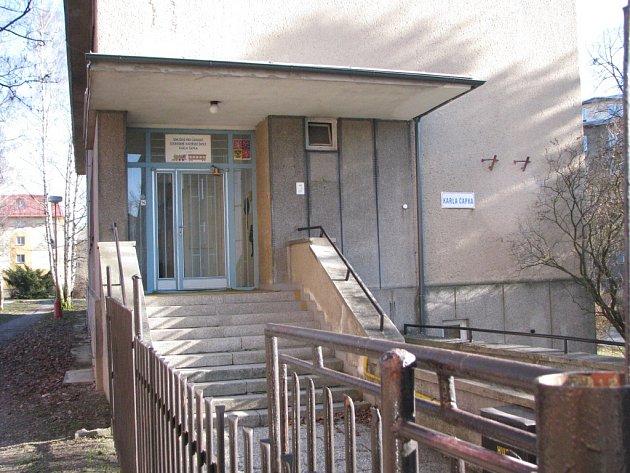 Mateřská škola v ulici K. Čapka.