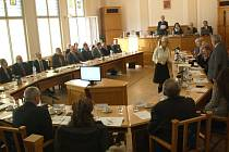 Ustavující zasedání českotěšínských zastupitelů.
