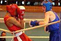 Boxeři Baníku 1. máj Karviná byli mimořádně úspěšní na MČR juniorů.  Ilustrační foto.