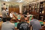 Předsezonní tisková konference házenkářského Baníku Karviná.