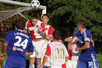 Fotbalistům Orlové se v MSFL daří.