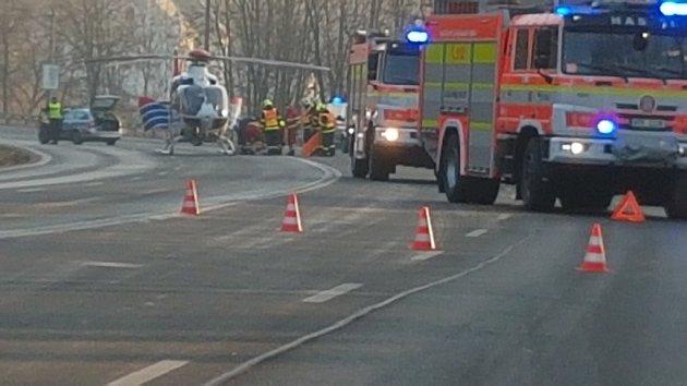 Nehoda vKarviné-Dolech.