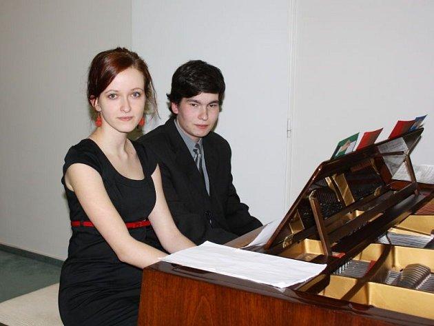 Jakub Šotkovský a Markéta Mamicová