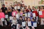 Krasobruslařské závody v Orlové.