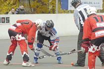 Hokejbalisté Karviné oba domácí duely prohráli.