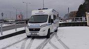Mobilní služebna havířovské městské policie.