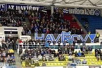 Jedinečná hokejová atmosféra, která v úterý vládla na havířovském zimním stadionu, kde se domácí střetli s Českými Budějovicemi.
