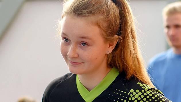 Izabela Jurenková z SDH Havířov Město.