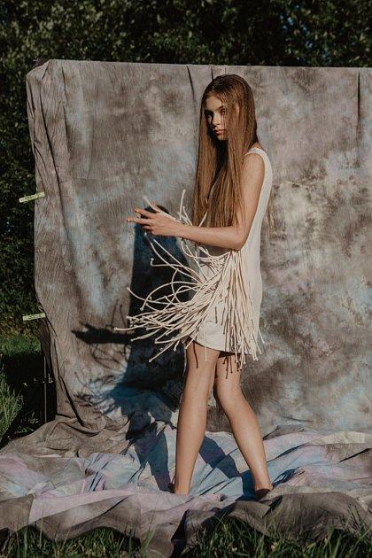 Vhavířovském OC ELÁN je kvidění výstava módních fotografií Irmy Kaňové.