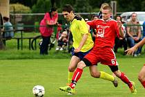 V derby Stonavy a Dolní Lutyně (v červeném) se zrodila remíza.
