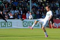 Jan Moravec dnes navštíví zápas reprezentace. V sobotu by rád viděl úspěch karvinských barev.