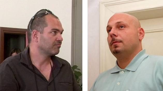Bohdan Svorník (vlevo) a Radim Lapšanský na archivních snímcích Deníku.