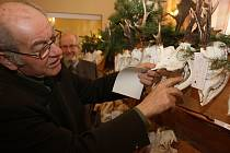 Výstava loveckých trofejí myslivců z Karvinska v Havířově.