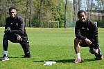 Karvinští fotbalisté začali mezi dezinfekcí společnou přípravu.