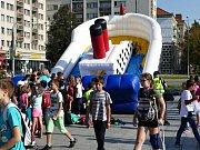 Závěr Evropského týdne mobility v Havířově patřil zábavnému dopoledni na náměstí Republiky.