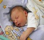 Paní Tereze Martinkové z Českého Těšína se 3. dubna narodil syn Adámek Martinek. Po narození chlapeček vážil 3740 g a měřil 51 cm.
