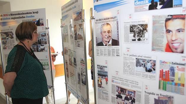 Expozici o historii MS kraje si může prohlédnout každý návštěvník havířovské radnice.