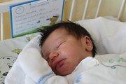 Chlapeček Alexandr Hric se narodil 2. března paní Lence Hricové z Karviné. Malý Alexandr vážil po porodu 3290 g a měřil 49 cm.