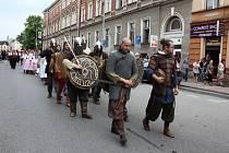 Svátek tří bratří v Těšínech. Snímek z roku 2011.
