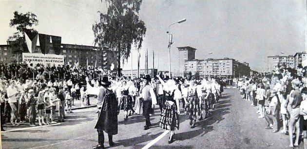 Havířov vkvětech vroce 1973.