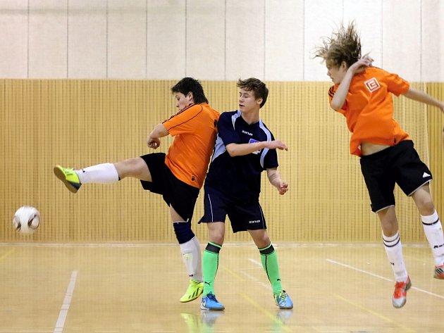 Mezinárodní fotbalový turnaj žactva v Horní Suché.