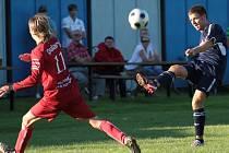 Fotbalisté Dětmarovic uspěli v Petřkovicích a ve středu dohrávají zápas s Frenštátem.