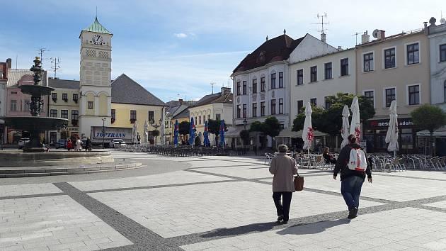Masarykovo náměstí v Karviné.
