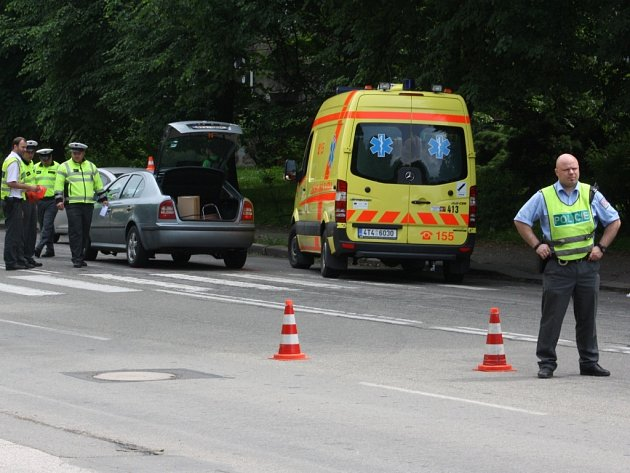 Při dopravní nehodě v Karviné byly zraněny tři malé děti.