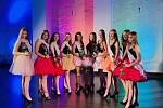 Finalistky soutěže Dívka roku 2020.