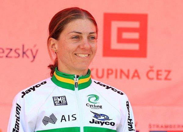 Katrin Garfoot - celkově druhá a vítězka soutěže aktivity.