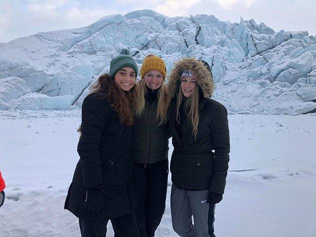 Výlet na Aljašku byl také nezapomenutelným zážitkem.