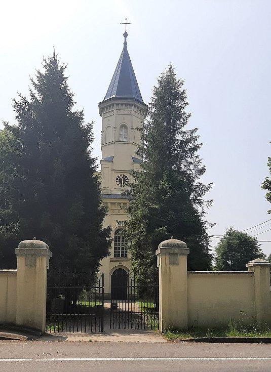 Orlová-Město. Evangelický kostel