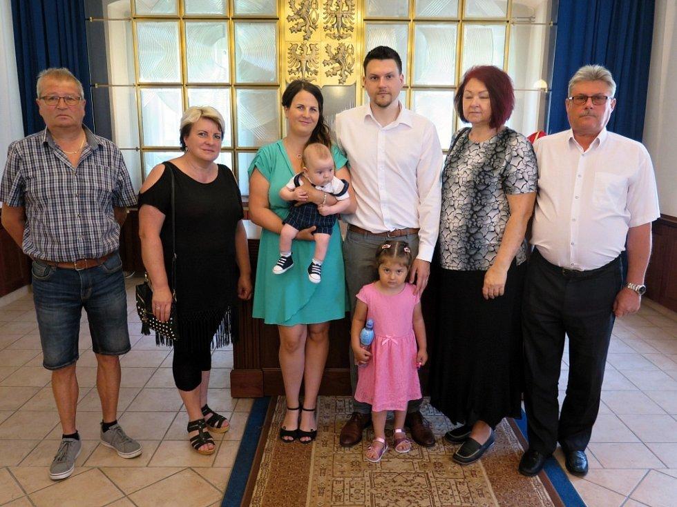 Vítání občánků města Havířova 9. června 2019.